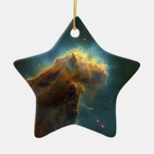 NASAs  Eagle Nebula Ceramic Ornament