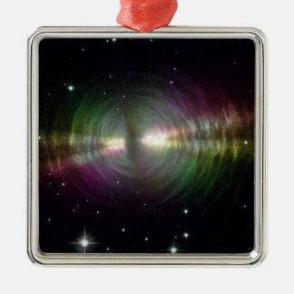 NASAs  Egg Nebula Metal Ornament