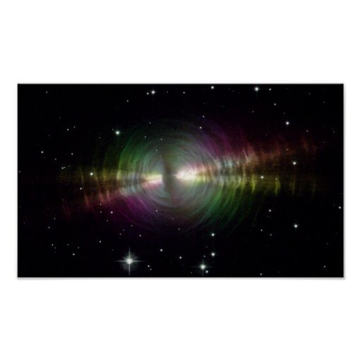 NASAs Egg Nebula Poster