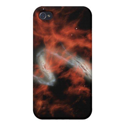NASAs - en el corazón de gotas iPhone 4 Carcasa