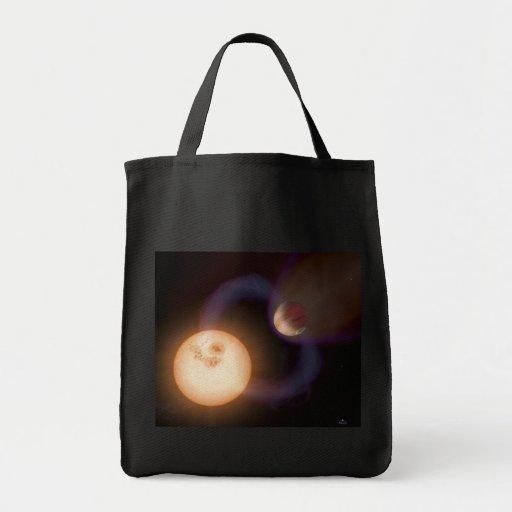 NASAs extrasolar planet Sweeps Tote Bag