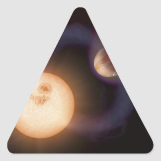 NASAs extrasolar planet Sweeps Triangle Sticker