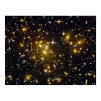 NASAs galaxy Abell Postcard