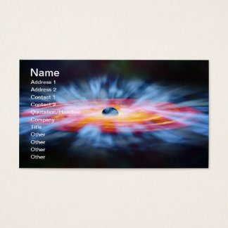 NASAs Galaxy Active nucleus AGN Business Card