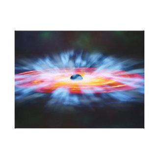 NASAs Galaxy Active nucleus AGN Canvas Print