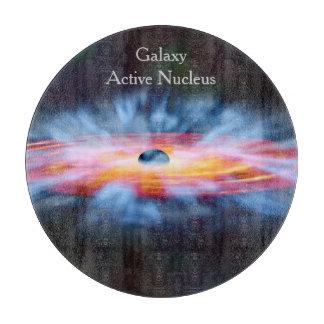 NASAs Galaxy Active nucleus AGN Cutting Board