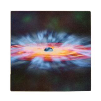 NASAs Galaxy Active nucleus AGN Wooden Coaster