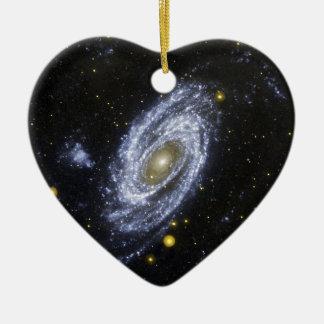 NASA's Galaxy Evolution Explorer Ceramic Ornament