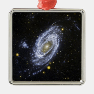 NASA's Galaxy Evolution Explorer Metal Ornament