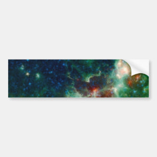 NASAs Heart And Soul Nebula Bumper Sticker