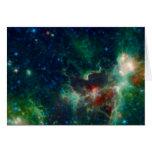 NASAs Heart And Soul Nebula NASA Greeting Card