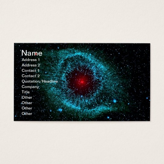 NASAs Helix Nebula Business Card