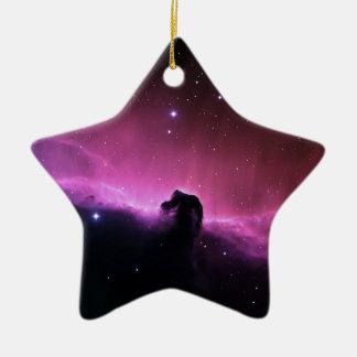 NASAs Horsehead Nebula Ceramic Ornament