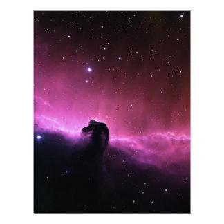 NASAs Horsehead Nebula Customized Letterhead