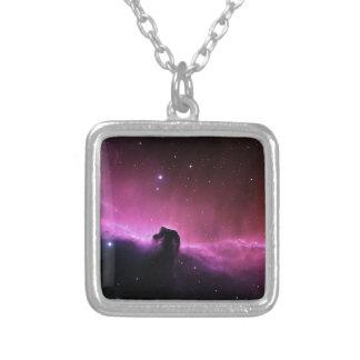 NASAs Horsehead Nebula Square Pendant Necklace