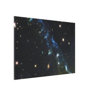 NASA's Hubble Views a Cosmic Skyrocket Canvas Print