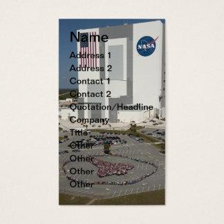 NASAs Human Shuttle Business Card