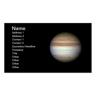 NASAs Jupiter Business Card Templates