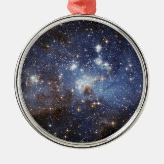 NASAs Magellanic Cloud Metal Ornament