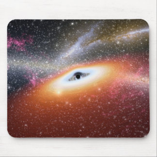 NASAs Massive Black Hole Mouse Pad