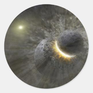 NASAs - Massive Smash-Up at Vega Stickers