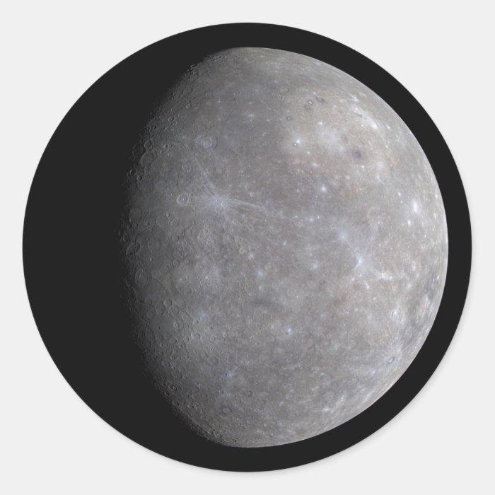 NASAs Mercury Classic Round Sticker