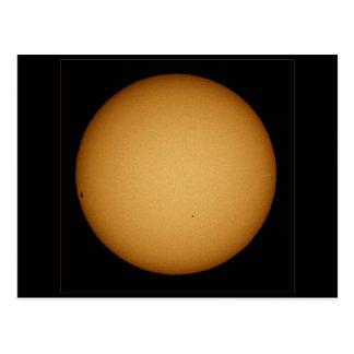 NASAs Mercury in transit Postcard