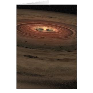 NASAs - Mini Solar System in the Making Card