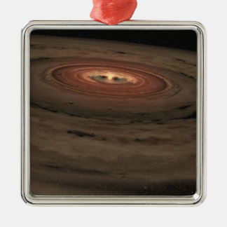 NASAs - Mini Solar System in the Making Metal Ornament