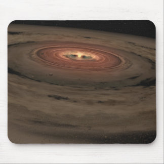 NASAs - Mini Solar System in the Making Mouse Pad