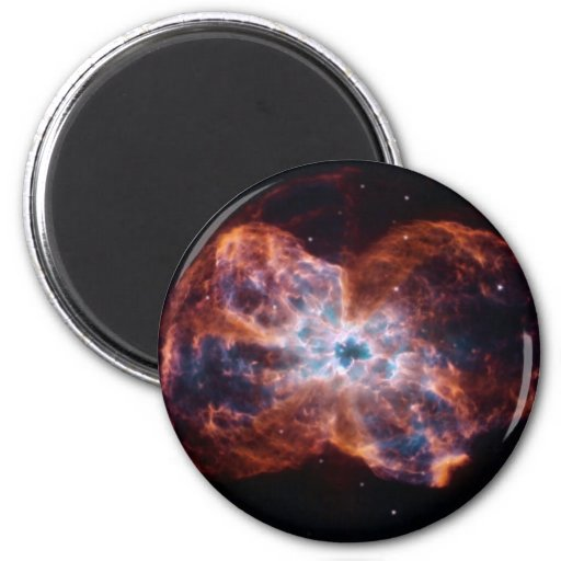 NASAs ms0735 nebula Refrigerator Magnets