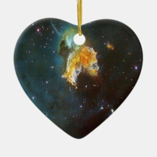 NASAs N63A nebula Ceramic Ornament