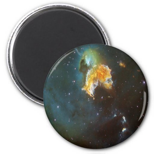 NASAs N63A nebula Fridge Magnets