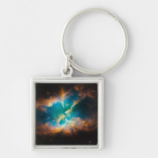 NASAs NGC2818 nebula Keychain