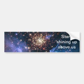 NASAs NGC3603 star cluster Bumper Sticker