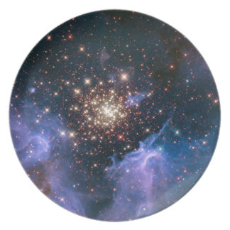NASAs NGC3603 star cluster Party Plates