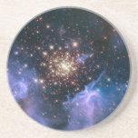 NASAs NGC3603 star cluster Sandstone Coaster