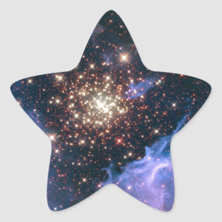 NASAs NGC3603 star cluster Star Sticker