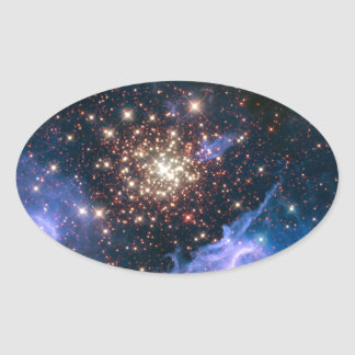 NASAs NGC3603 star cluster Sticker