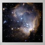 NASAs NGC602 galaxy Poster