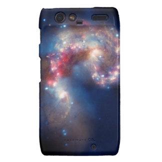 NASAs NGC 4038-4039 Galaxy Motorola Droid RAZR Cases