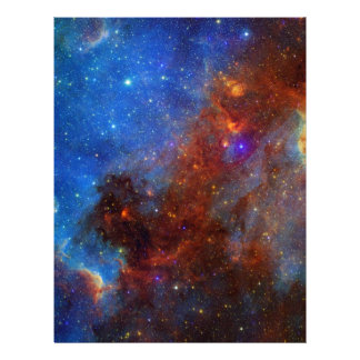 NASAs North American Nebulae Personalized Letterhead