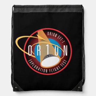 NASA's Orion EFT-1 Flight Official Mission Patch Drawstring Bag