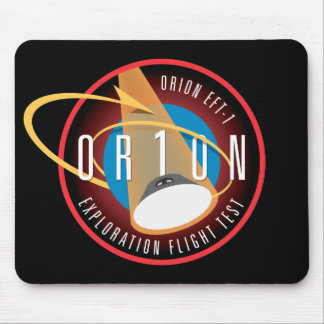 NASA's Orion EFT-1 Flight Official Mission Patch Mouse Pad