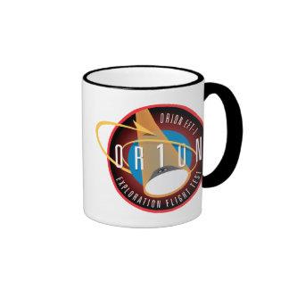 NASA's Orion EFT-1 Flight Official Mission Patch Ringer Coffee Mug