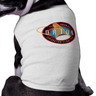 NASA's Orion EFT-1 Flight Official Mission Patch Pet T Shirt