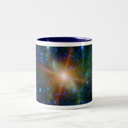NASAs PIA13942 galaxy Two-Tone Coffee Mug