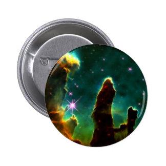 NASAs Pillars of creation Pinback Button