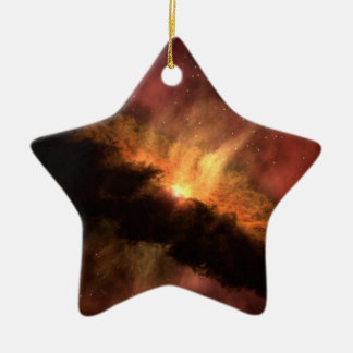 NASAs Planet-Forming Disk Double-Sided Star Ceramic Christmas Ornament