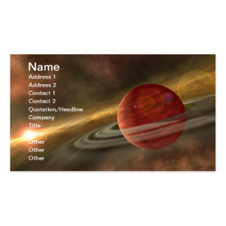 NASAs Planets and dwarf planets Business Card